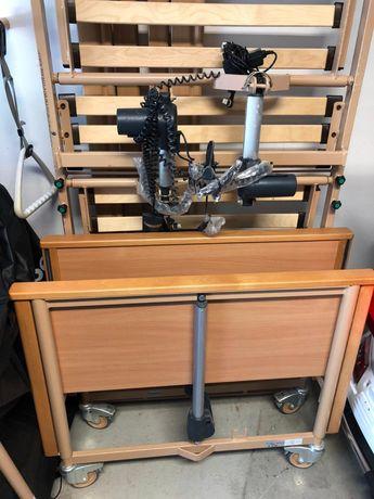 Łóżko rehabilitacyjne elektryczne burmeiren 4 silniki
