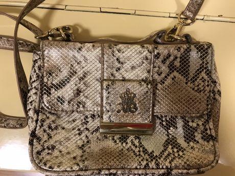 Детская  сумочка с принтом змеиной кожи