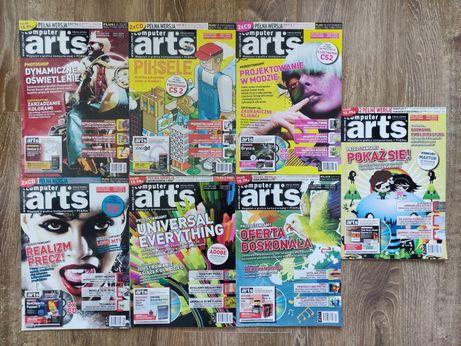 Computer Arts grafika komputerowa miesięcznik, 2005 - 7 numerów
