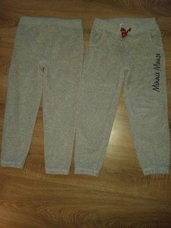 2 szt. bliźnięta r.116 do 122 dresy,spodnie dresowe,bliźniaki Myszka