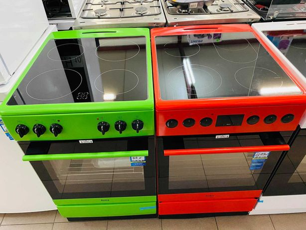 Oryginalna Kuchnia elektryczna Amica! Kolor Zielony! Raty