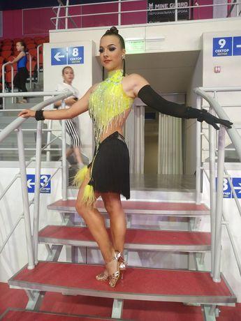 Латина платье для бальных танцев