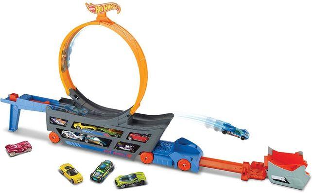автовоз с петлей Хот Вилс Трек Трюки и Гонки Hot Wheels Stunt Go Track