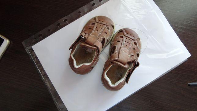 кожаные босоножки для самых маленьких