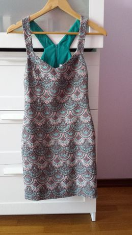 Vestido Zara   Curto   Justo