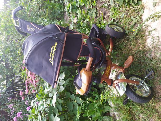 Трехколесный велосипед Ламборджини