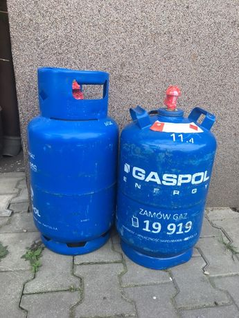 Butla gazowa butle gazowe, propan butan, gaz , 11 kg, pełna z gazem
