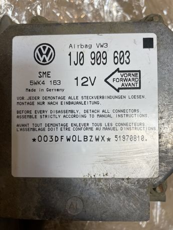 Sterownik Sensor Airbag Poduszek VW T4 1J0.909.603