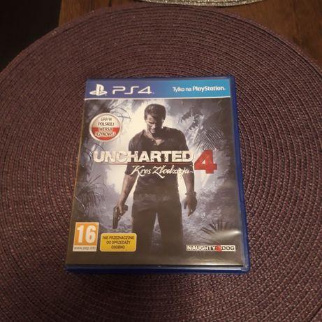 Uncharted 4 kres złodzieja na ps 4