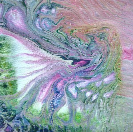 Картина на холсте абстракция
