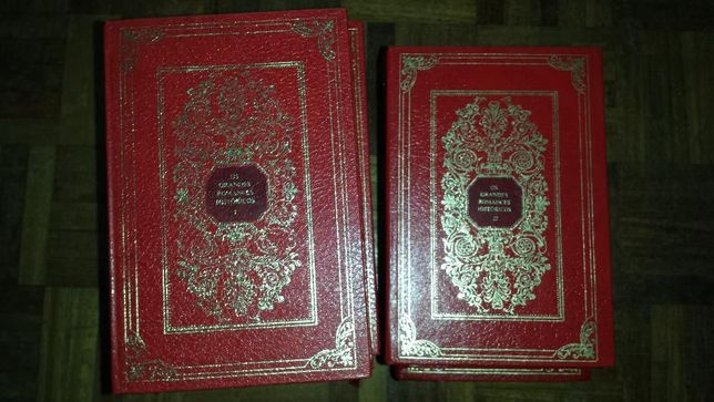 """Livros """"Os Grandes Romances Históricos"""""""