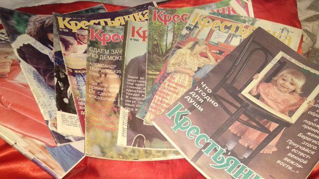 журнал крестьянка на русском языке цена за все что на фото