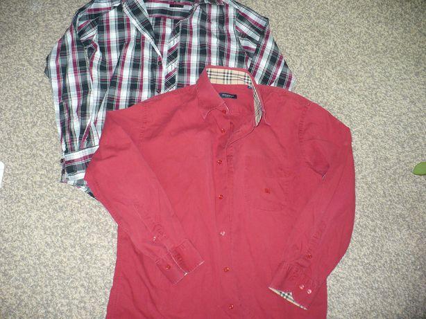 dwie koszule męskie S/M 168/178 cm