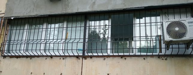 Балкон металлопластиковый 6000*1350мм, Б/У