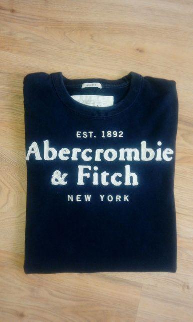 Abercrombie&Fitch bluzka,bluza,M,granatowa