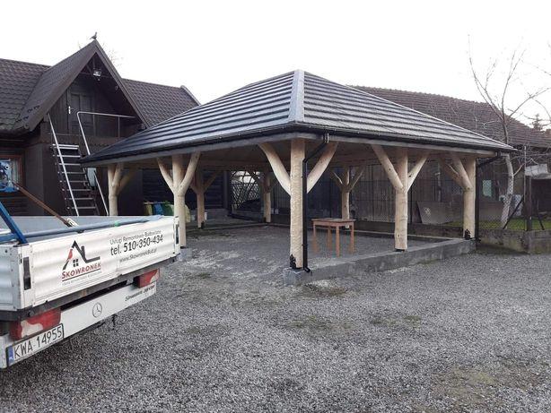 Altana Wiata, Drewniane Altany Wiaty garaże usługi budowlane