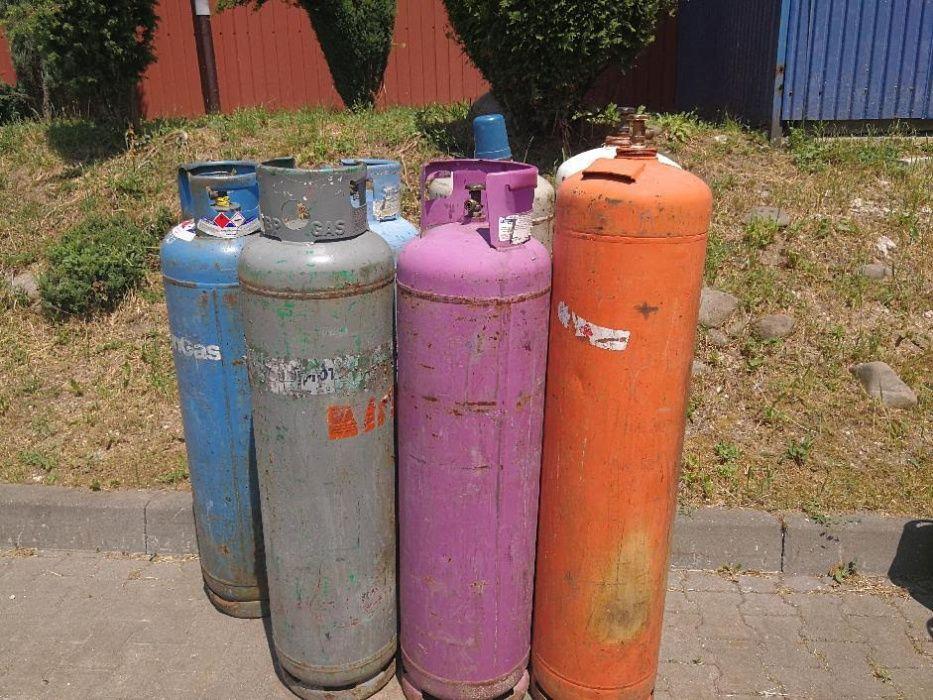 Butla gazowa na gaz propan butan 33kg propan 30kg pusta piec kuchenka
