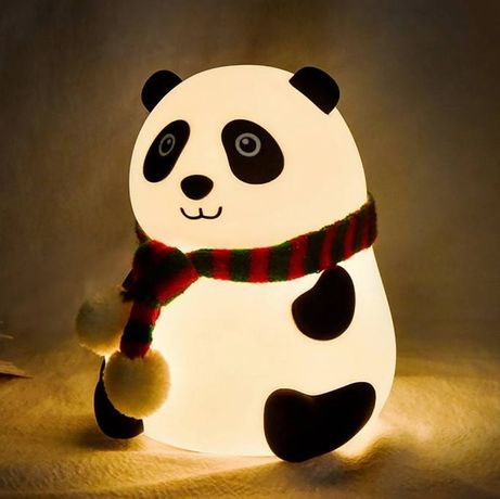 Нічник,ночник,у формі панди