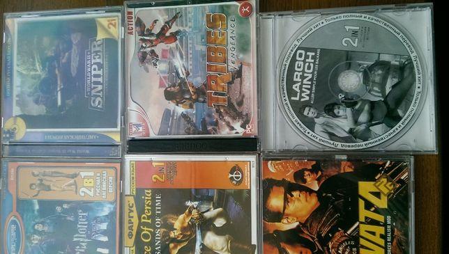 Игровые CD диски на ПК.