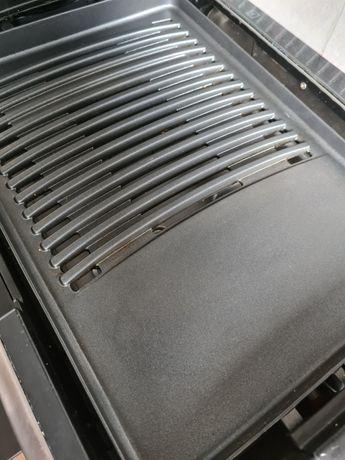 Grill elektryczny zelmer 1650W opiekacz pokrywa szklana