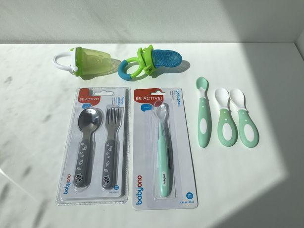 Ниблер силиконовый, ниблер сеточка, ложки для первого прикорма