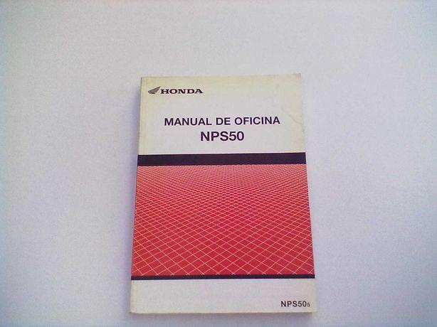 Manual Técnico Oficial Honda Ruskus NPS 50