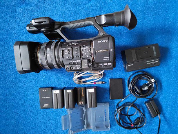 Sprzedam kamerę Sony HXR NX5E + dysk SSD 128 GB