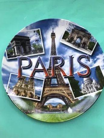 Сувенирная тарелка Париж