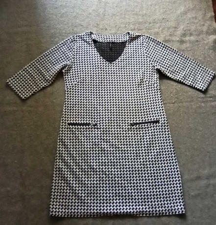 Free Quent Codzienna Sukienka w Pepitkę L/ XL