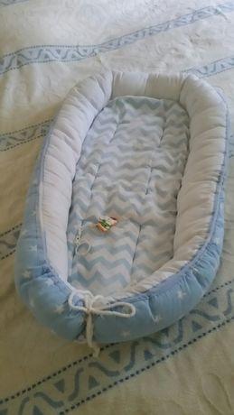 Кокон гнездо для малыша Матрасик в коляску