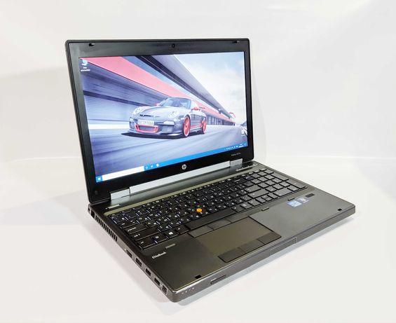 Игровой HP 8570W i7/FHD/16G_RAM/256G+500G_SSD/NVIDIA 2GB/Подсветка.
