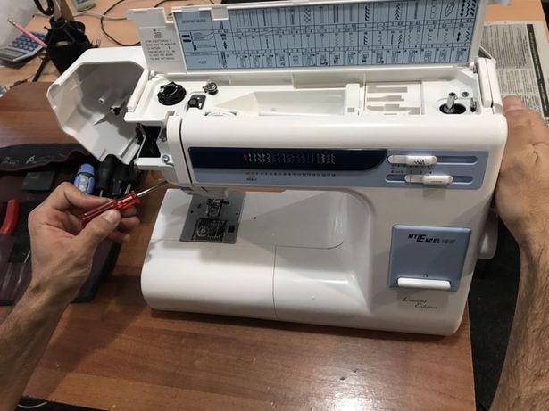 Ремонт,настройка швейных машин и оверлоков