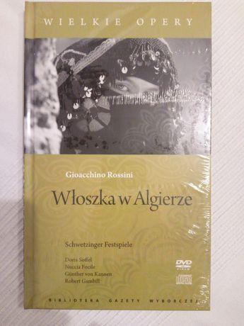 Włoszka w Algierze opera CD+DVD+książka