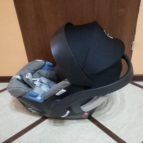 Fotelik samochodowy + adaptery do wózka