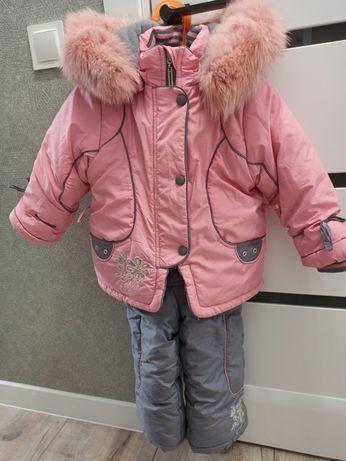 Зимний комбинезон + куртка, на рост 86 см. Kiko