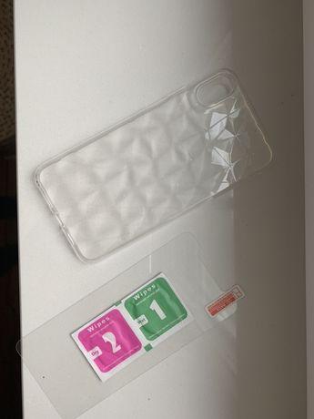 Etui Iphone  Xs plus szklo hartowane