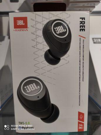 Słuchawki bezprzewodowe JBL Czarne z Powerbankiem