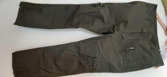 nowe męskie wojskowe jeansy, bawełniane, oddychająchające