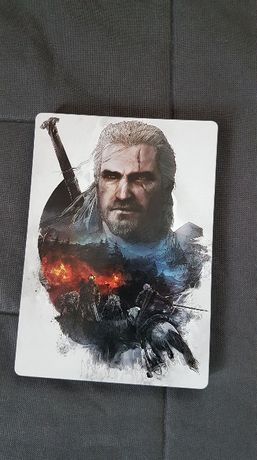Steelbook G1 Wiedźmin 3 Dziki Gon | Geralt i Eredin