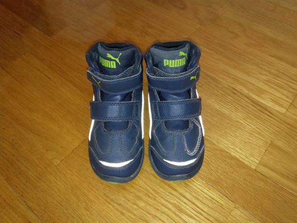 Ботинки хайтопы кожаные PUMA Buty 22 размер