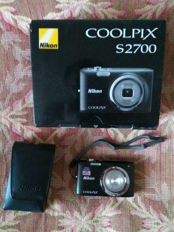 Фотокамера Nikon Coolpix S2700 Black