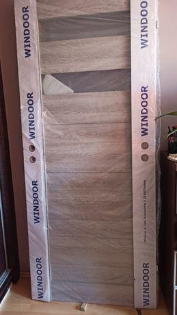 Drzwi 80 nowe szary dąb