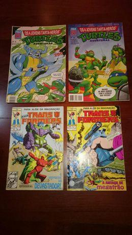 Revistas BD lote: Transformers e Tartarugas Ninja ( Turtles TMNT )