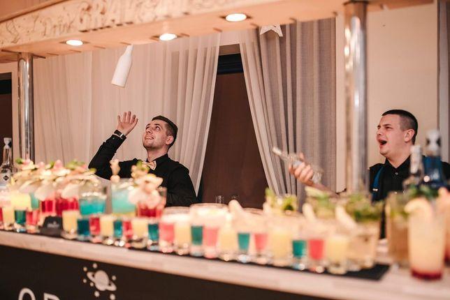 *Mobilny Bar Gravity Drink Bar* Ekskluzywny Barman na Wesele