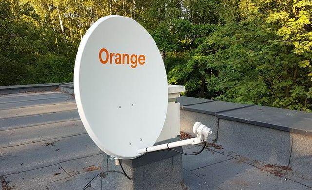 Antena Satelitarna Orange