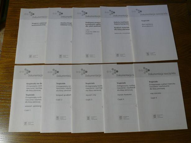 Tropiciele klasa 1. Dokumentacja nauczyciela. Materiały do podręcznika