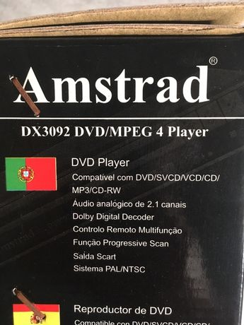 Leitor DVD/MPEG4