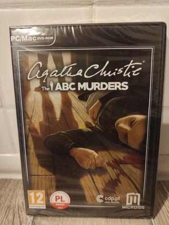 Gra na komputer pc Agatha Christie ABC Murders polska nowa w folii