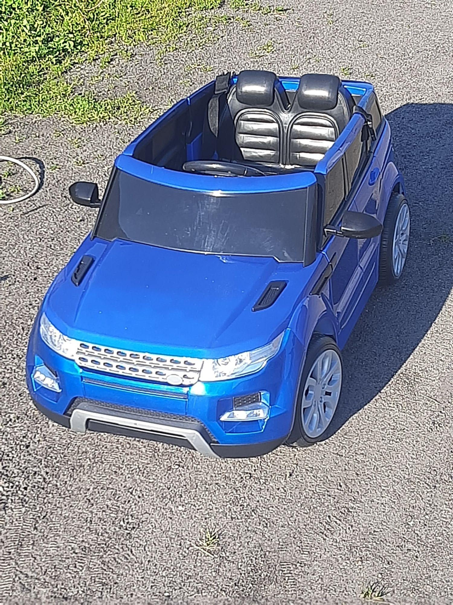 Samochód na akumulator Land Rover
