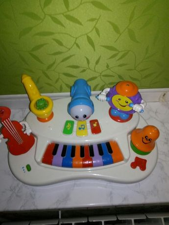 "KIDDIELAND Развивающая игрушка ""Пианино Рок-банда"""